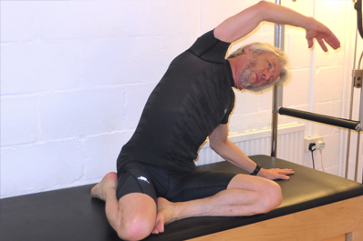 Pilates Classes Cambridge Mermaid Pose